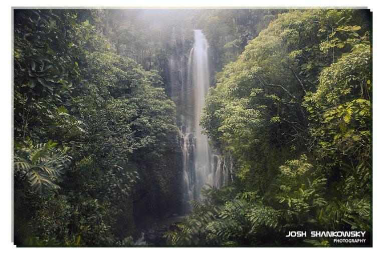 Wailula Falls, Hawaii