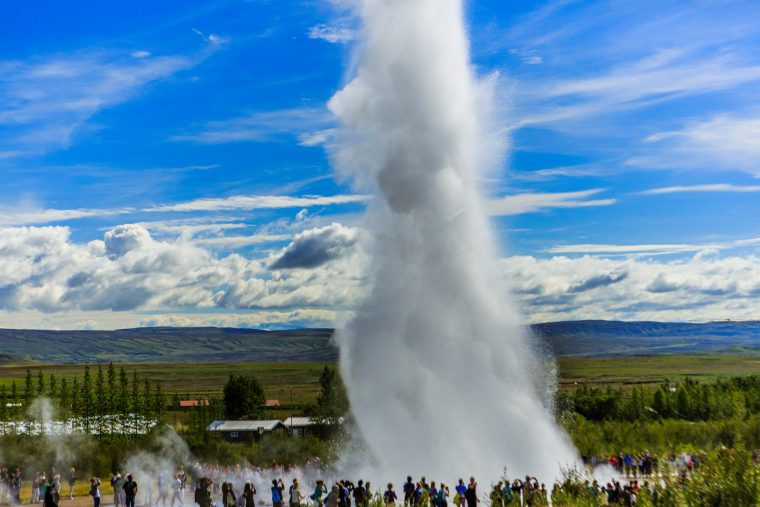 Strokkur Geyser, Iceland – The Golden Circle